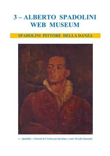 3 – ALBERTO SPADOLINI WEB MUSEUM