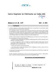 Rapport contemporain - Département d'information médicale