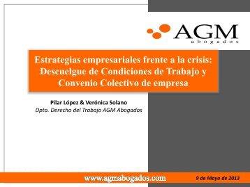 Estrategias Empresariales frente a la Crisis: Descuelgue ... - Asego