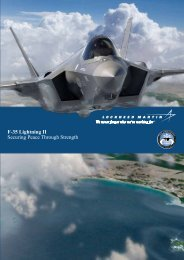 F-35 Lightning II Securing Peace Through Strength