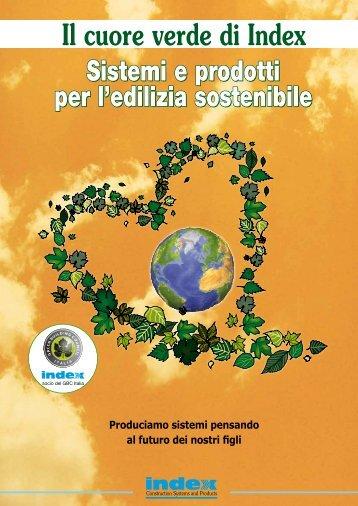 Sistemi e prodotti per l'edilizia sostenibile - Index S.p.A.