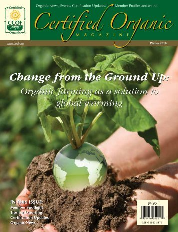 Change from the Ground Up - CCOF