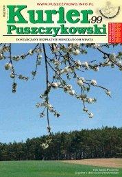 Kurier 99-fonty.indd - Stowarzyszenie Przyjaciół Puszczykowa