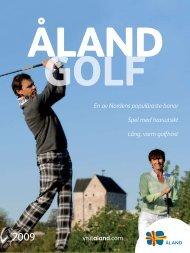 Åland Golf 2009 (pdf) - Visit Åland