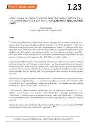 penyelidikan batubara bersistem pada cekungan sumatera selatan ...