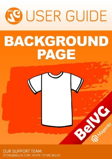 1. Introduction to Background Page - BelVG Magento Extensions Store