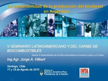 La sostenibilidad de la producción del biodiesel en Argentina