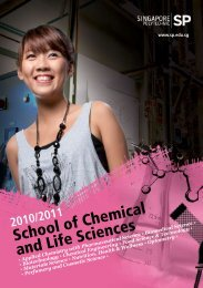 School of Chemical and Life Sciences - Singapore Polytechnic