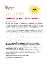 Sommerfest - Deutsche Schule Moskau