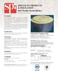 8847 Marine Blanket - SPI - Specialty Products & Insulation Co.