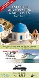 BEST OF THE MEDITERRANEAN & GREEK ISLES BEST OF THE ...