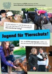 Jugend für Tierschutz ! - Amaro