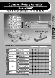 Compact Rotary Actuator - SMC ETech