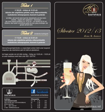 Silvester 2012/13 - Bootshaus