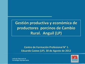 Gestion productiva y economica de productores porcinos de ...