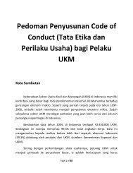 Pedoman Penyusunan Code of Conduct (Tata Etika dan ... - Smecda