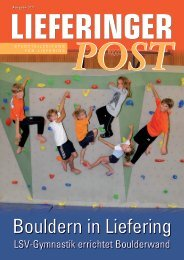 Lieferinger Post 3. Ausgabe 2011