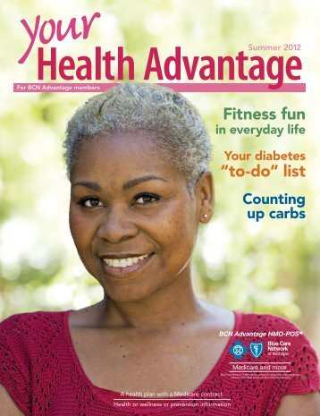 Your Health Advantage Summer Issue 2012 - Blue Care Network