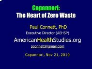 Capannori: The Heart of Zero Waste - Comune di Capannori