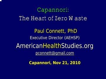 Capannori: The Heart of Zero Waste - Comune di Capannori
