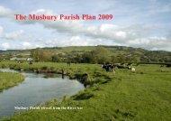 The Musbury Parish Plan 2009 - Community Council of Devon