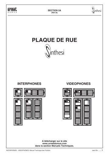 schematic1 electrique urmet captiv. Black Bedroom Furniture Sets. Home Design Ideas