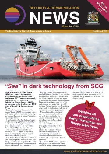 download the Winter 11 Newsletter - Scottish Communications