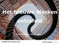 Presentatie workshop 1.5 - Landelijk Arbo Congres
