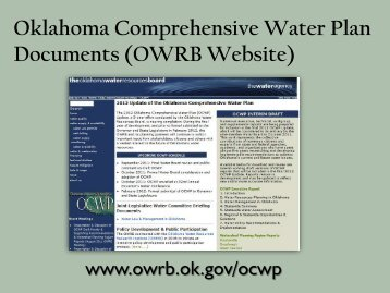 water law and management in oklahoma - Water Resources Board