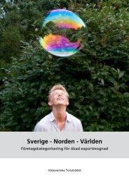 Här kan du läsa mer om Sverige – Norden – Världen - Västsverige