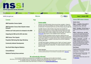 NSS News issue 7 October 2006.pdf - National Statistical Service