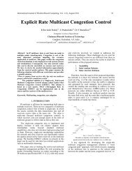 Explicit Rate Multicast Congestion Control - Wisdom Based Computing