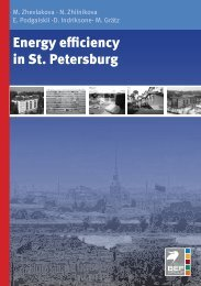 Energy efficiency in St. Petersburg - Bef-de.org
