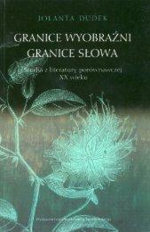 Granice wyobraźni, granice słowa - Octotext Books