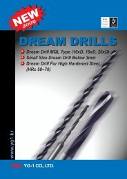 DREAM DRILLS DREAM DRILLS - YG-1