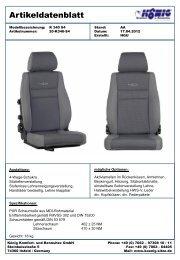 K 340 S4 - König Komfort- und Rennsitze GmbH