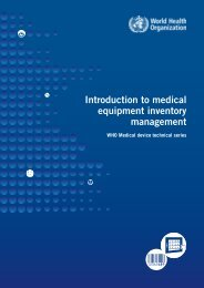 Introduction to Medical Equipment Inventory ... - digicollection.or..