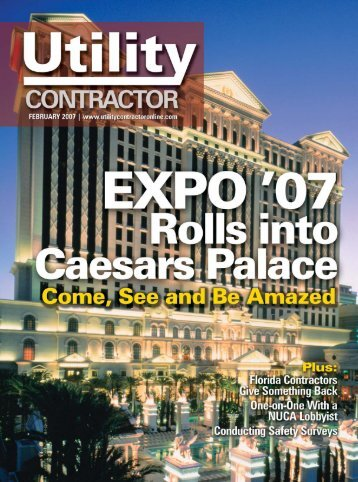 View Full February PDF Issue - Utility Contractor Magazine