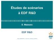 Les études menées à EDF - gedepeon