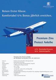 Premium Zins Protect Anleihe - Bankhaus Krentschker & Co ...