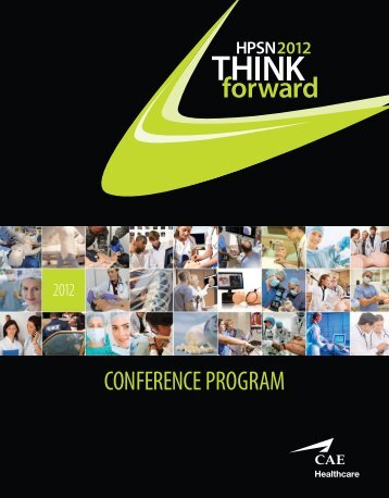 CONFERENCE PROGRAM - Human Patient Simulation Network