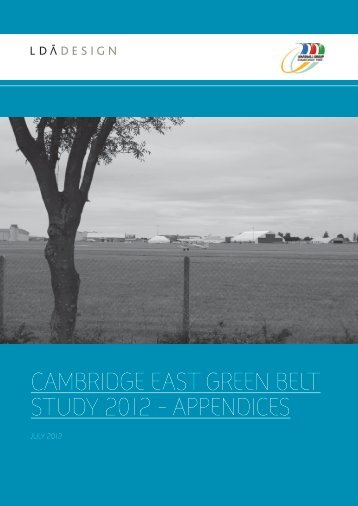 LDA Report Template - Cambridge City Council