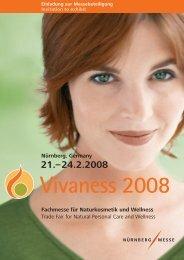 Nürnberg, Germany Fachmesse für Naturkosmetik und ... - Vivaness
