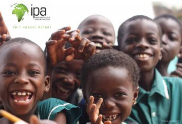 2011 ANNUAL REPORT - Innovations for Poverty Action