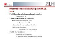 Das Kernpraktikum - ZLH-Hamburg