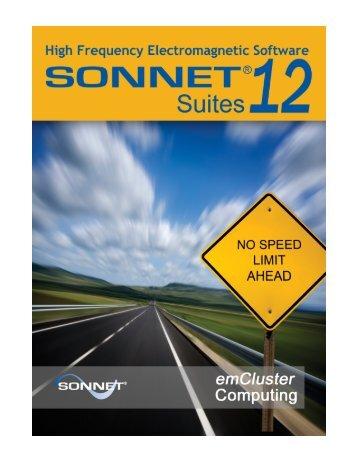 emCluster® using Sonnet Networking - Sonnet Software