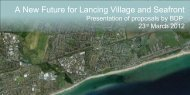 A New Future for Lancing Village and Seafront - Loughton, Tim