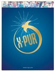 Téléchargez la brochure X-PUR