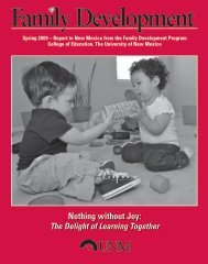 Nothing without Joy: - College of Education - University of New Mexico