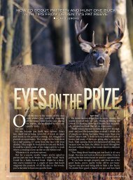 how to scout, pattern and hunt one buck wIth tIps FroM drIVen tV's ...